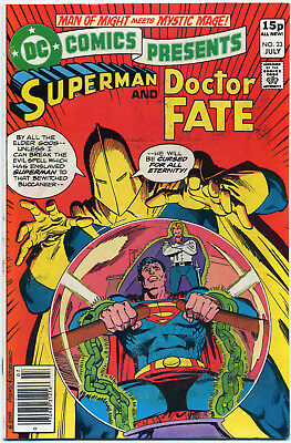 Dc Comics Presents #23 Superman Doctor Fate (Dc 1980) Vf+ First Print Bagged