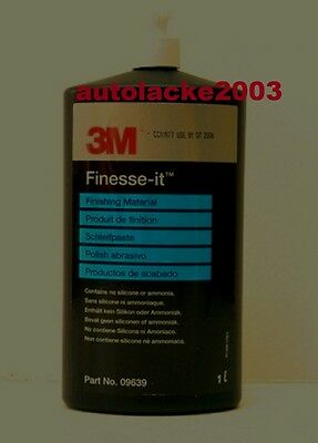 1x 1 Liter 3M 09639 Finesse-it Schleifpaste