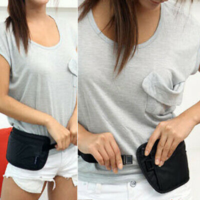 Travel Waist Belt Bag Pouch Passport Security Money Compact Safety Sports Fanny