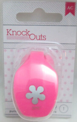 American Crafts Knock Outs 5//8 inch Single Punch ~ SNOWFLAKE  Winter  ~368657