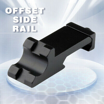 Offset Side Rail Mount 45 Degree Tactical Picatinny Weaver Angle Scope Sight