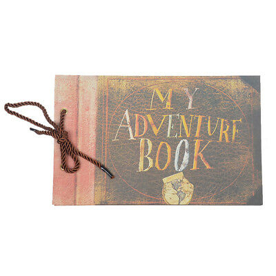 MY/OUR ADVENTURE BOOK Scrapbook Photo Album Blank Our Love Story Book Disney Up