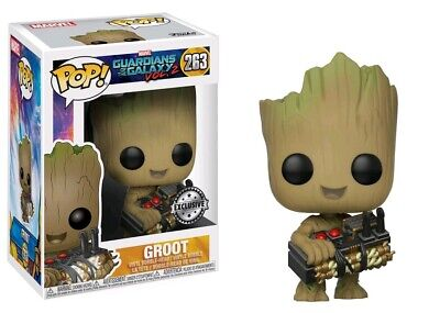 Pop! Vinyl--Guardians of the Galaxy: Vol. 2 - Groot with Bomb US Exclusive Po...