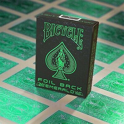 Bicycle MetalLuxe Emerald Playing Cards Limited Edition by JOKARTE - New Sealed
