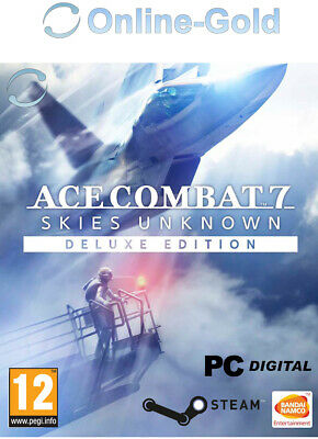 Ace Combat 7: Skies Unknown Deluxe Edition Steam PC Simulation game AC7SU DE/EU