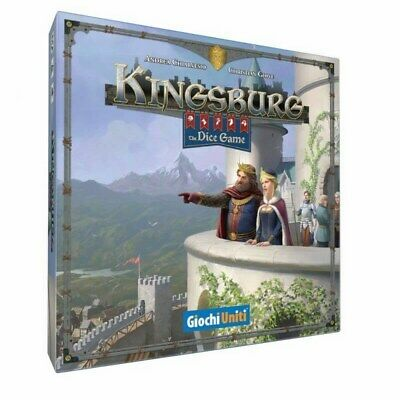 KINGSBURG: THE DICE GAME Gioco da Tavolo Italiano
