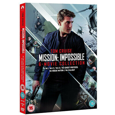 Mission Impossible 1-6 The Brand New And Sealed Box Set UK DVD Region 2 Free PP