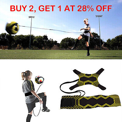 Football Self Training Kick Practice Trainer Aid Equipment Waist Belt Returner K