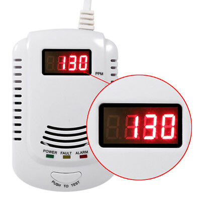 Digital Gas Leak Detector Liquefied Pipeline Natural Gas Alarm Tester Sensor NEW