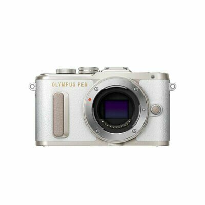 Brand New OLYMPUS PEN E-PL8 Mirrorless Camera Body Only White Color ES*1