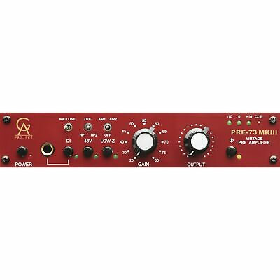 Golden Age Project - PRE-73 MK3 Mic/Line Preamp mit Neve 1073 Charakter
