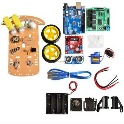 Avoid Tracking Motor Smart Robot Car Chassis 2WD Intelligent Engine for Arduino_