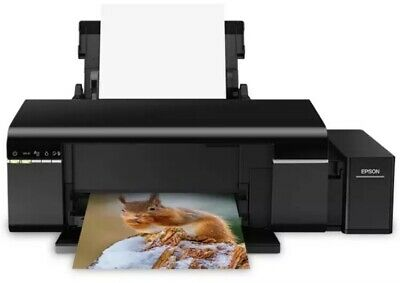Epson L L805 Colour, Inkjet, Photo Printer, Wi-Fi, A4, Black Comes With EU Plug