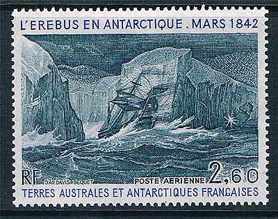 French Antarctic/TAAF 1984 H M S Erebus SG 189 MNH