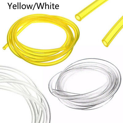 3*6mm/1/8''x1/4'' 1/8''x1/4'' Smooth Gas Fuel Diesel Oil Line Latex Pipe Hose 2M
