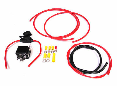 Upgrade Wiring for Skyline Fuel Pump with Relay Walbro Bosch 255lph Intank Kit