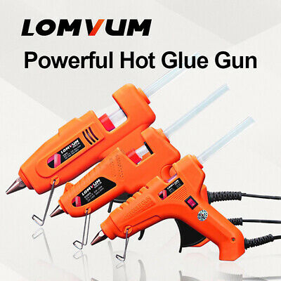 80W/100W/150W High Temp Glue Gun UK Hot Melt Electric Trigger Rapid Heating