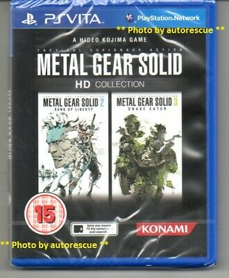 Metal Gear Solid HD Collection   'New & Sealed' *PS VITA*