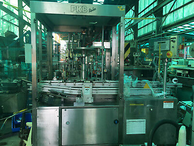 PKB Robo cosmetic (foundation) filling and capping line