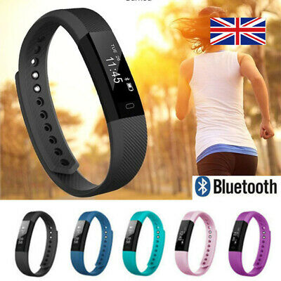 Fitness Smart Watch Band Sport Activity Tracker For Kids Fit bit Android iOS UK