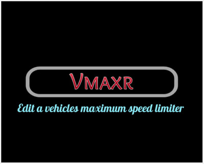 Vmaxr Ecu Speed Limiter Remap File Editing Software - V1.0.01