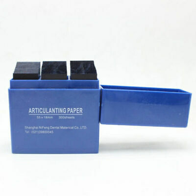 NEW Dental Articulating Paper Lab Products Teeth Care Blue Strips 300 Sheets/box