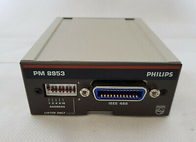 Philips PM 8953 interface for remote control / IEEE 488 / Schnittstelle