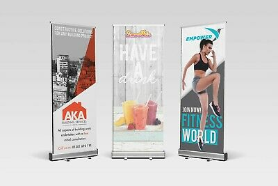 Roller Banner Display Stand - Pop/Roll/Pull up Display Exhibition Stand