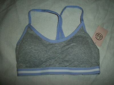 d87670d8e57a62 So Lounge Bralette Bra Size M Style Zg53B025Z Removable Padded Cups Gray Nwt