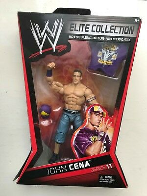 Wwe Boxed John Cena Elite Collection Series 11 Mattel Wrestling Figure