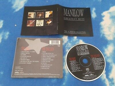 #BARRY MANILOW – Greatest Hits - Platinum Collection (2 x CDs - different vers)