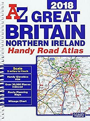 Great Britain Handy Road Atlas 2018 (A5 Spiral), Geographers A-Z Map Co Ltd, Use