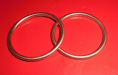 "BSA 175cc BANTAM D10/D14 EXHAUST PIPE SEALING RINGS  (""2)"