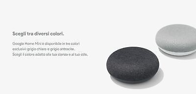 Google Home Mini Assistente Vocale Grey