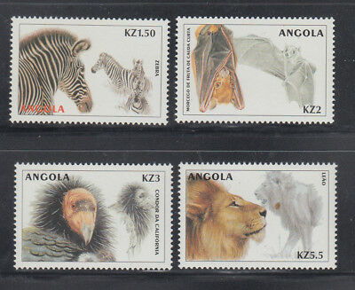 Burkina Faso 1986 Mi-nr Mnh Wildtiere / Wild Animals 1111-1117 **