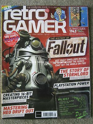 Retro Gamer Load 186 Fallout Stormlord Playstation Neo Drift Out Team 17 1943