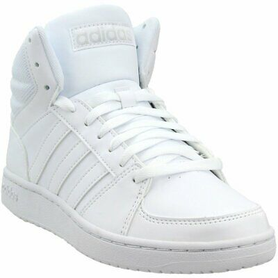 2309432a4570f3 ADIDAS HOOPS 2.0 Mid Men s Basketball Shoes DB0080 white black navy ...