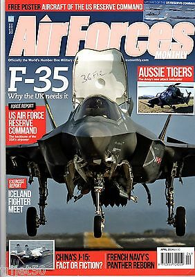 Air Forces Monthly 2014 April USAF Reserve Command,Flottile 36F,F-35,Spain