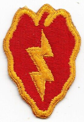US ARMY PATCH - 25Th Infantry Division - Original - Wwii