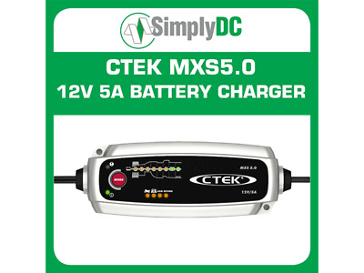 CTEK MXS 5.0 Batterry Charger Trickle Charger Marine Car Fully Automatic NEW