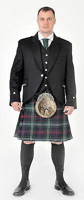 Sutherland Modern 8YD  wool KILT ONLY EX HIRE £99 A1 CONDITION