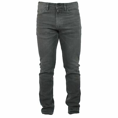 0f5027760 HUGO BOSS JEANS Delaware Homme Coupe Slim Denim Gris
