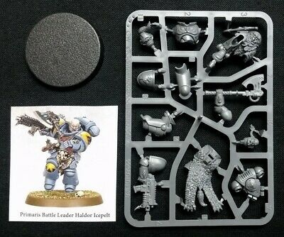 40K Haldor Icepelt Primaris Battle Leader Space Wolves Tooth Marines Warhammer