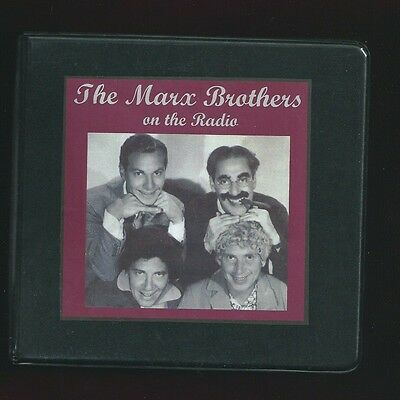 GROUCHO and MARX BROTHERS 12 CD OTR Comedy Radio Shows Bing Crosby Jack Benny ++