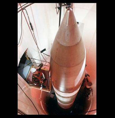 Minuteman III Nuclear Missile Silo PHOTO, ICBM Atomic Weapon Bomb LGM-30G