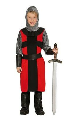 Boys English Knight St George Medieval Book Day Fancy Dress Costume Outfit 5-12