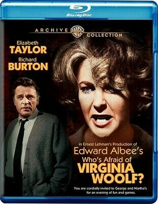 Who's Afraid Of Virginia Woolf (2016, Blu-ray New)
