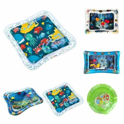 Inflatable Baby Water Mat Fun Activity Play Center for Kids Children Tummy Time