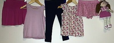 Girls Bundle 4-5 TU George H&M Primark Next <H5170
