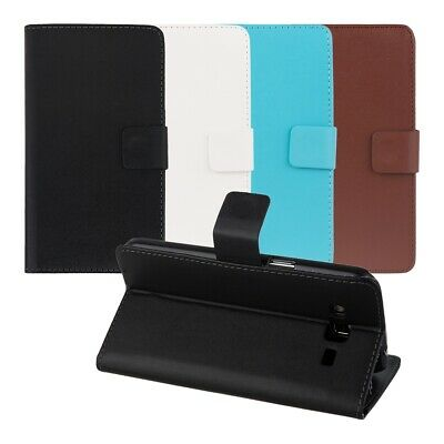 PU Leather Wallet Case Flip Cover for Samsung Galaxy Grand 2 G7105